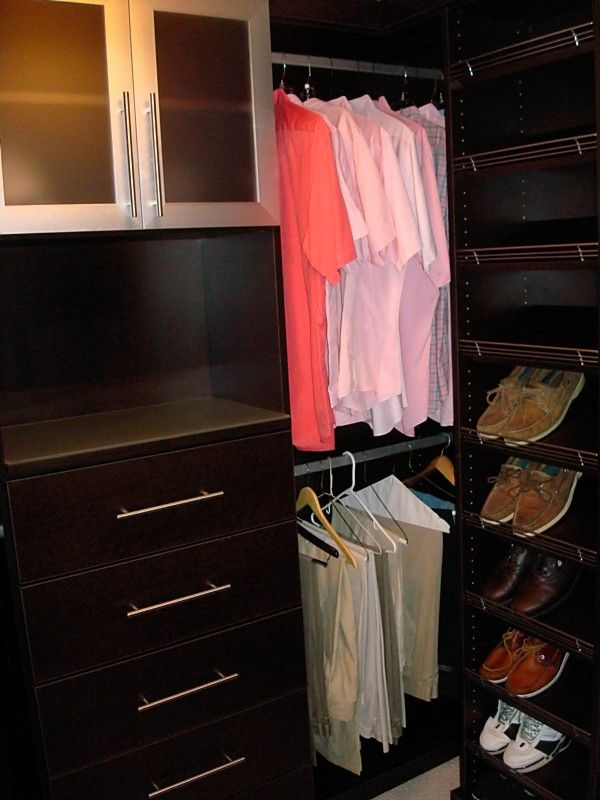 Closet for small space! More ideas >>> http://www.geniushomeimprovements.com/