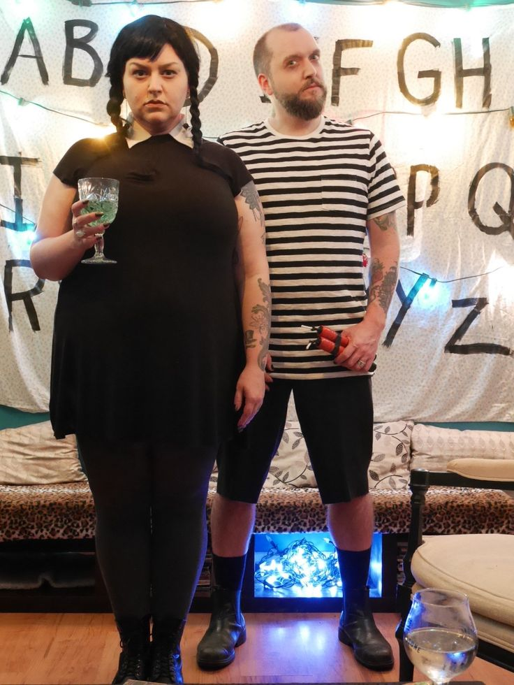 Wednesday & Pugsley Addams Costumes