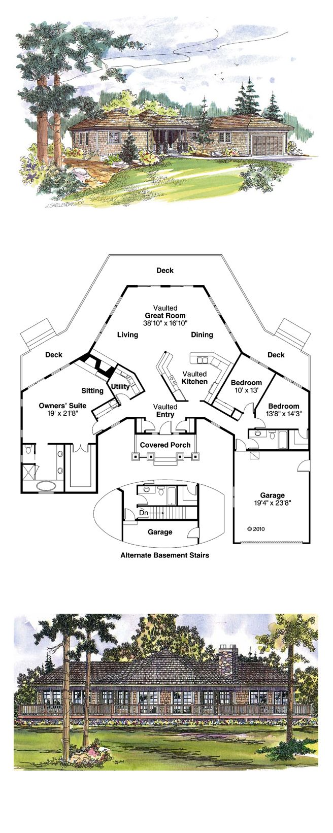 1000 Images About Octagon Style House Plans On Pinterest