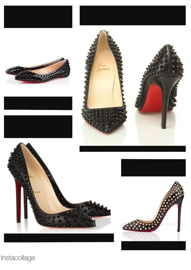 Spiked Louboutins....love these!