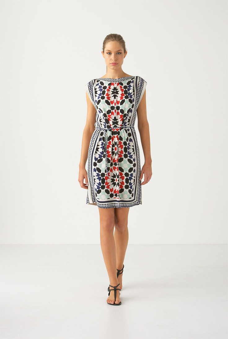Country Road-New In - Tile Print Tunic