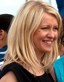 "Esther McVey (1967-) is a British Conservative Party politician and MP for Wirral West since 2010, and Minister of State for Employment since 2013. She was previously a television presenter, businesswoman and the Parliamentary Under-Secretary of State for Disabled People. She is single and has no children and gave her reason for that in an interview ""that she never found anyone to wind her biological clock""."