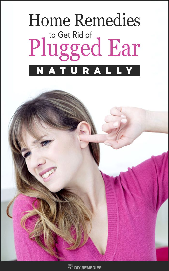 Home Remedies for Plugged Ears Remedies for Plugged Ear that caused due to Sinus Infection. Sinus infection is caused due to the blockage of sinuses with fluids where there is a growth of bacteria and other microbes causing swelling and irritation.