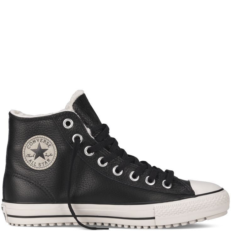 Give warmth with the Chuck Taylor Shearling Boot. Converse BootsConverse  HighConverse ...