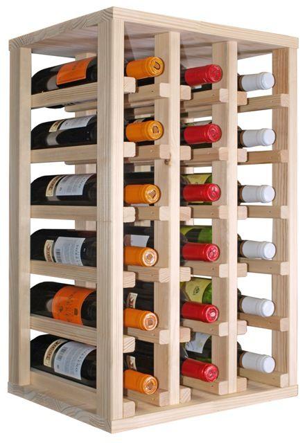 86 mejores im genes sobre vino en pinterest soportes - Estanterias para botellas ...