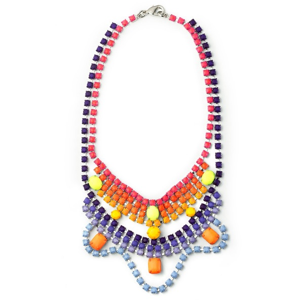Tom Binns: Scalloped Piñata Necklace ($1,225) ❤ liked on Polyvore