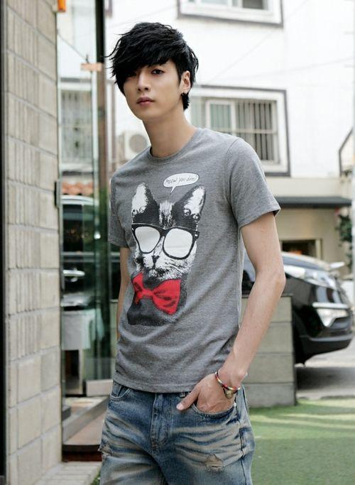 Won Jong Jin Cat In Glasses Cat In Glasses Faints S Pinterest Ulzzang