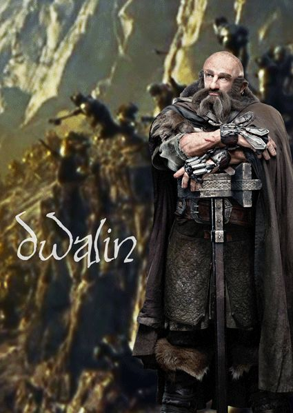 healthy insanity — Dwalin the dwarf The Hobbit: The Desolation of Smaug