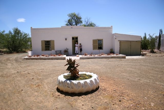 Akkedis cottage. Prince Albert, Western Cape
