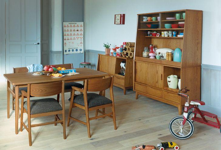 SIGNE(シグネ) ダイニングテーブル W1600 ブラウン   ≪unico≫オンラインショップ:家具/インテリア/ソファ/ラグ等の販売。