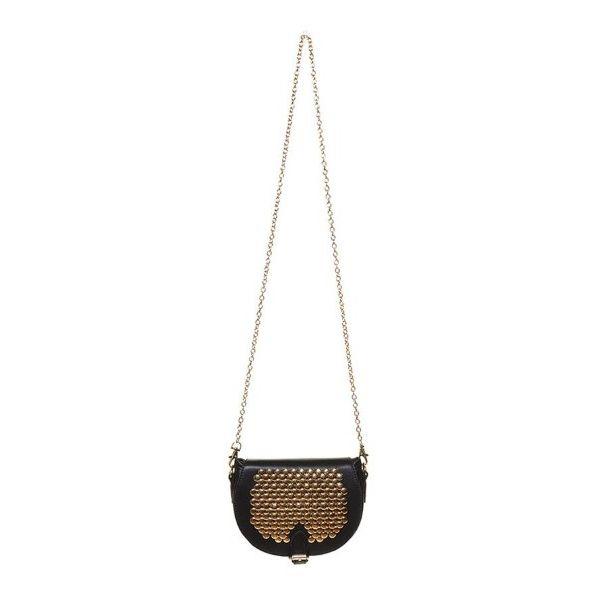 Studded Saddle Handbag - $40.00#crochetedhandbags #handicraft #selfmade #handmade #crocheted #craft #crocodilestitch #crochet #handbag #adelinefashionandhandicraft #handmadehandbag #beautiful #bottega #mcm #coach #love #valentino #burberry #purse #gucci #givenchy #fendi #celine #dior #goyard #hermes #chanel #ferragamo #ysl #backpack | Susan Gray - royal oak, MI
