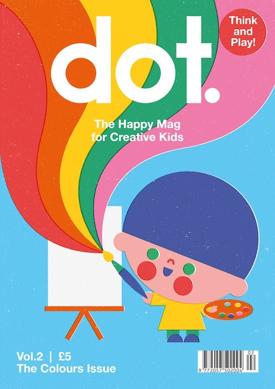 How DOT, the Kids Magazine is Attracting Adults, Too | AIGA Eye on Design