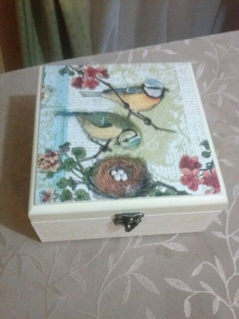 Decoupage con relieve