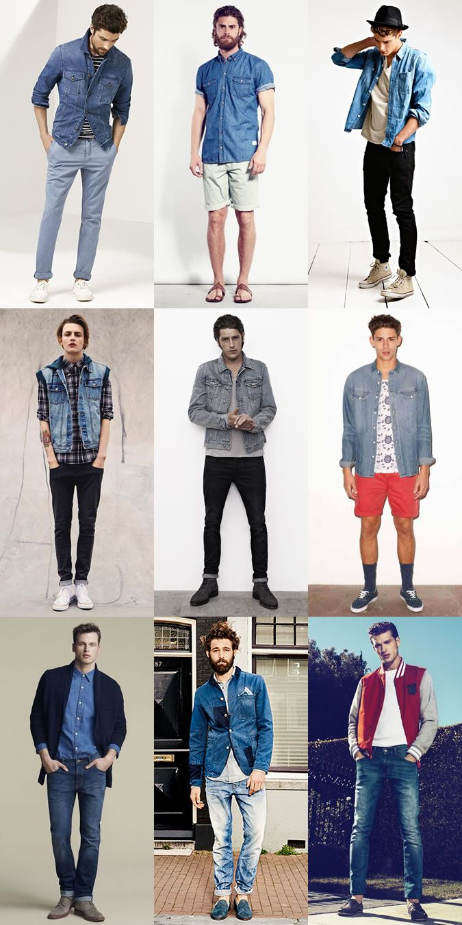 Trying Out Men's 2015 Spring/Summer Looks Now: Denim Lookbook Inspiration