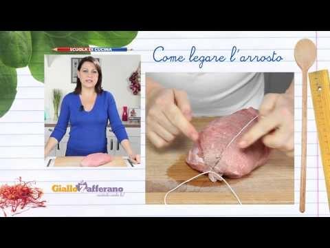 COME LEGARE L'ARROSTO (how to tie a roast) IL metodo per cucinare la carne lento e costante, al forno o in padella.  Qui la #video #ricetta: http://ricette.giallozafferano.it/Come-legare-l-arrosto.html  #GialloZafferano #Scuoladicucina #arrosto