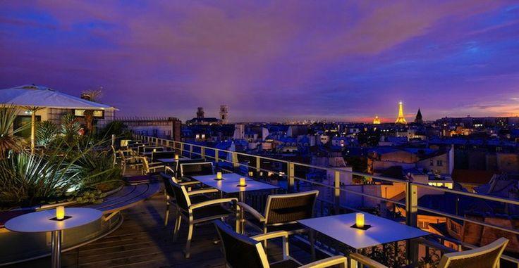 Où boire un verre en rooftop à Paris ?