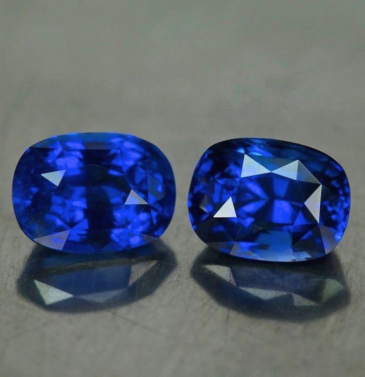 5349 - 4.19ct Sapphire Pair
