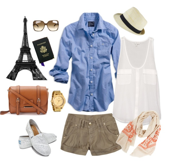 perfect outfit for exploring in paris!