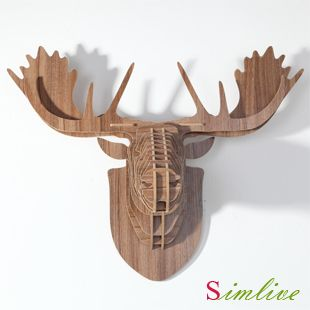 Cheap decor decoration, Buy Quality decorative door curtains home decor directly from China decorative heels Suppliers: DHL/Fedex/EMSshipping , Fast shipping !  Europe style DIY assembly carved wooden reindeer head hanging wall decor