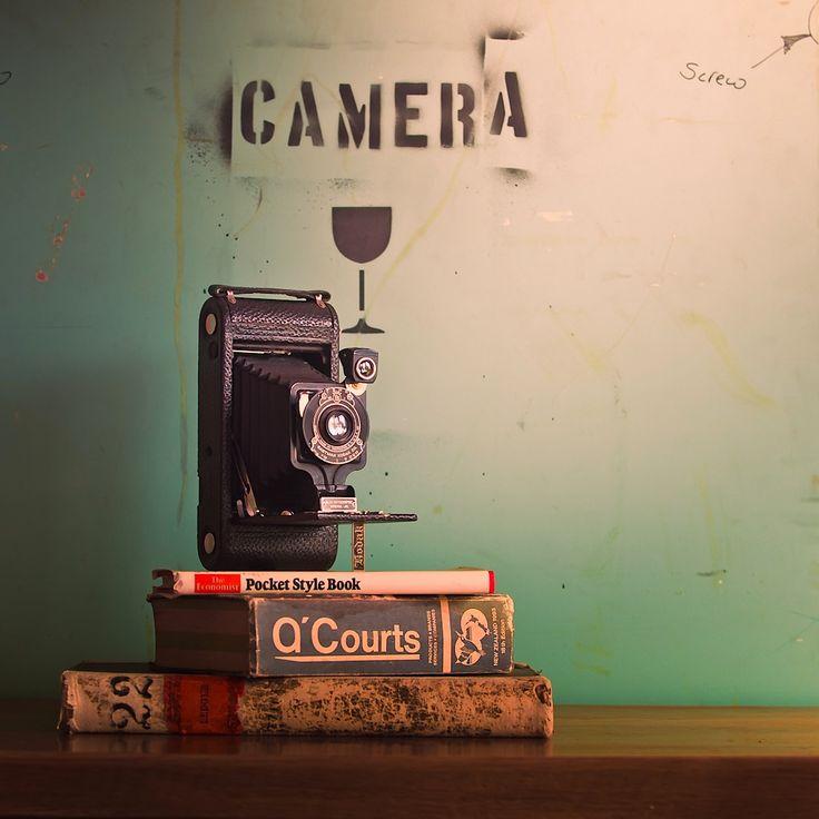 Books and cameras!