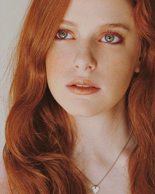 Image de redhead, ginger, and pretty