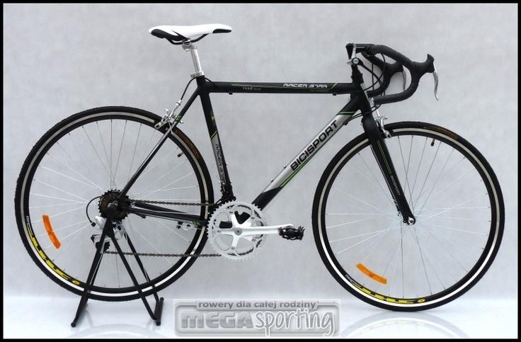 rower szosowy BICISPORT 28 aluminiowy kolarzówka (3113206107) - Allegro.pl - Więcej niż aukcje. Najlepsze oferty na największej platformie handlowej.   1100