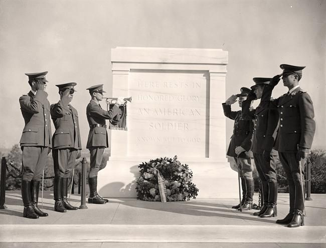 Tomb of Unknown Soldier, Oct. 20, 1938