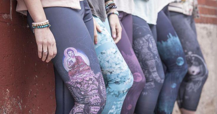 La collection Rose Buddha : les plus nice leggings sont québécois et écolos! Yé!