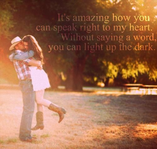 Heart You Re Amazing: It's Amazing How You Can Speak Right To My Heart. Without