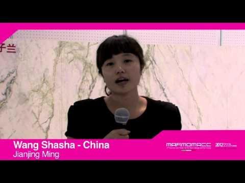 Marmomacc 2012: Wang Shasha interview (Jianjing Ming, China)