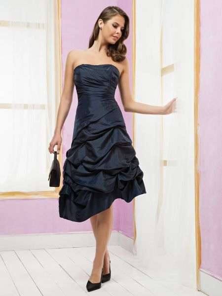 Robe de cocktail longue point mariage