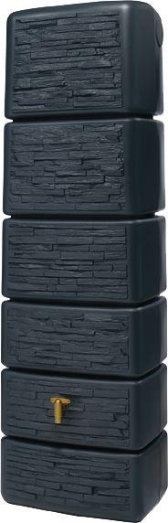 Wandtank 300L SLIM STONE DECOR, graphit/grau (1 Stück) kaufen
