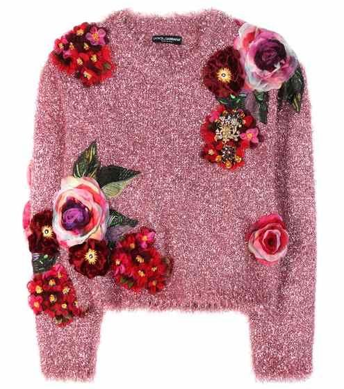 Pull métallisé à appliqués | Dolce & Gabbana