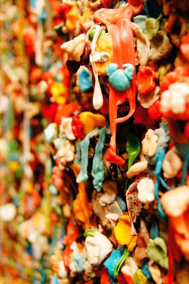 Gum wall - Seattle