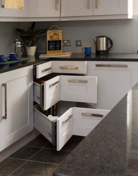 Modern Kitchen Modern Kitchen Contemporary Kitchens Storage Systems Design Ideas Solutions Cabinets Black And White Contemporary Kitchen Storage With Creative Corner Design Modern Kitchen Storage Systems For Your Contemporary Kitchen