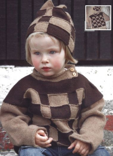 The Island Wool Company- Faroese By Design - Nordic By Nature - Child's Jumper & Hat