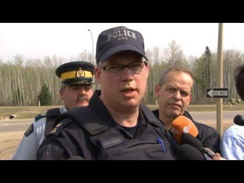 RCMP update on Fort McMurray wildfire