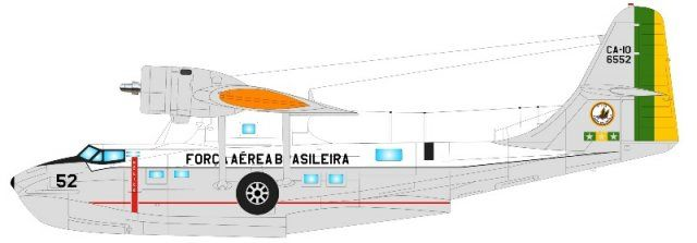Brazilian Air Force Catalina PBY 6-A