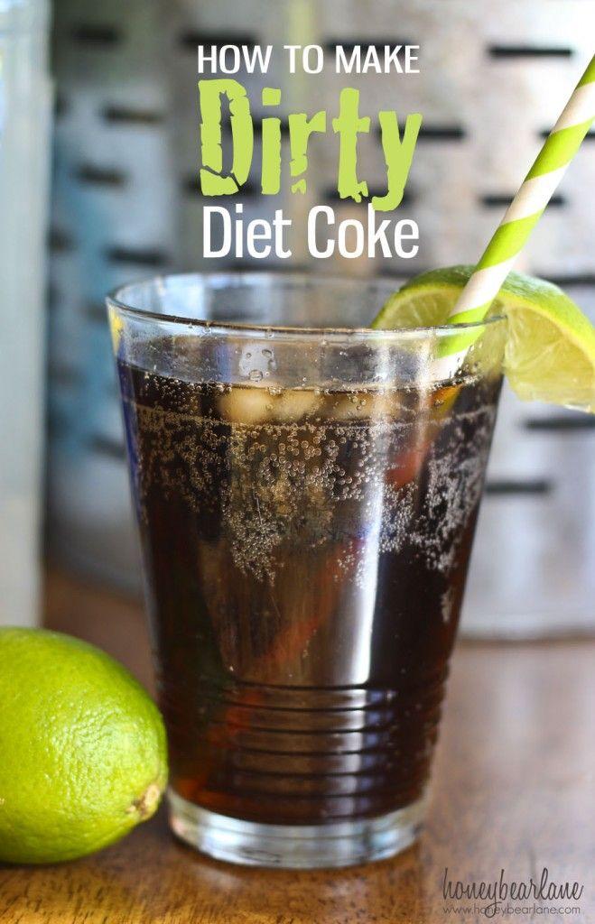 DIY Dirty Diet Coke | Diet coke, Coconut rum and Spiced rum