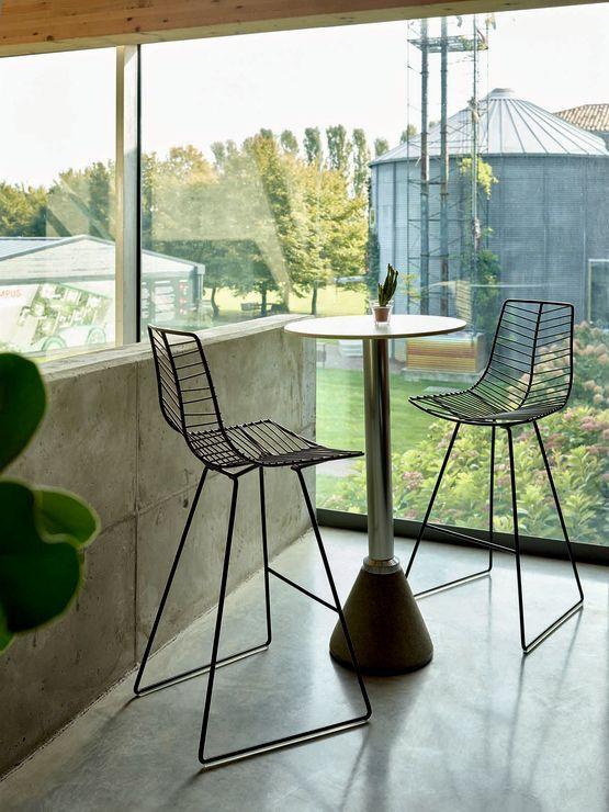 leaf barstool stylecraft outdoor stools arper in 2018
