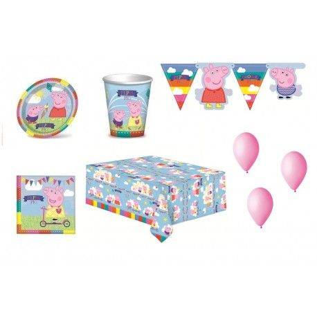 KIT PARTY COMPLEANNO PEPPA PIG