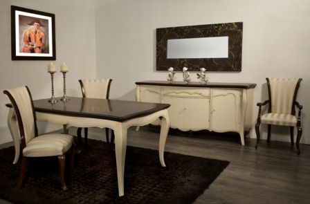 Casa Ampia-τραπεζαρία venetto No2-τραπέζι-καρέκλα-μπουφές-patina-dining table-έπιπλα-διακόσμηση σπιτιού-ιδέες και λύσεις