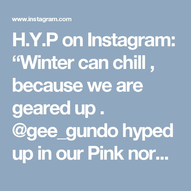 "H.Y.P on Instagram: ""Winter can chill , because we are geared up .  @gee_gundo  hyped up in our Pink normal cuff beanie !  #hypedup  #headwear  #hypedupapparel …"""