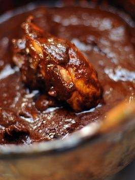 Estella's Mole Poblano Chicken: a more realistic prep time of almost 3 hours...this recipe if followed correctly will produce a dynamite mole