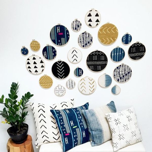 Modern Mudcloth - Gallery Walls That Feel So Unexpected - Photos