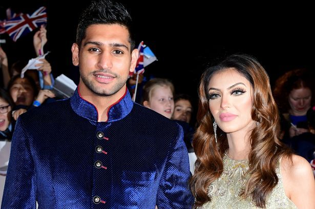 Amir Khan splits with wife alleges her of sleeping Anthony Joshua