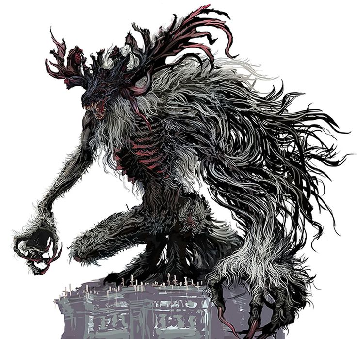 Cleric Beast from Bloodborne
