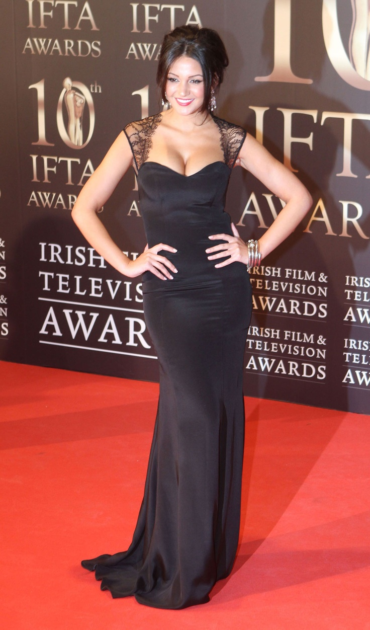 Michelle Keegan at 10th IFTA Awards in Dublin
