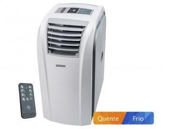 Ar-condicionado Portátil Agratto 9.000 BTUs - Quente/Frio ACP09QF com Controle Remoto de R$ 1.899,00 por R$ 1.699,00.