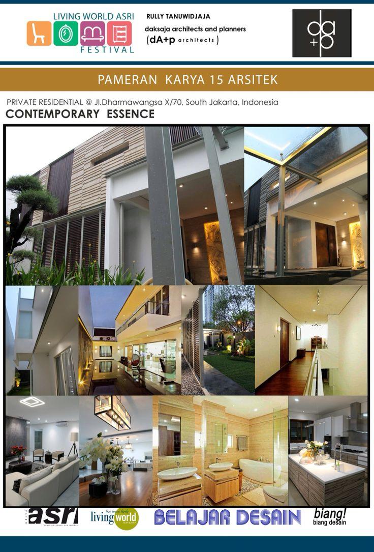 Private Semi-Detached House at Jl. Dharmawangsa X no.70, South Jakarta, Indonesia